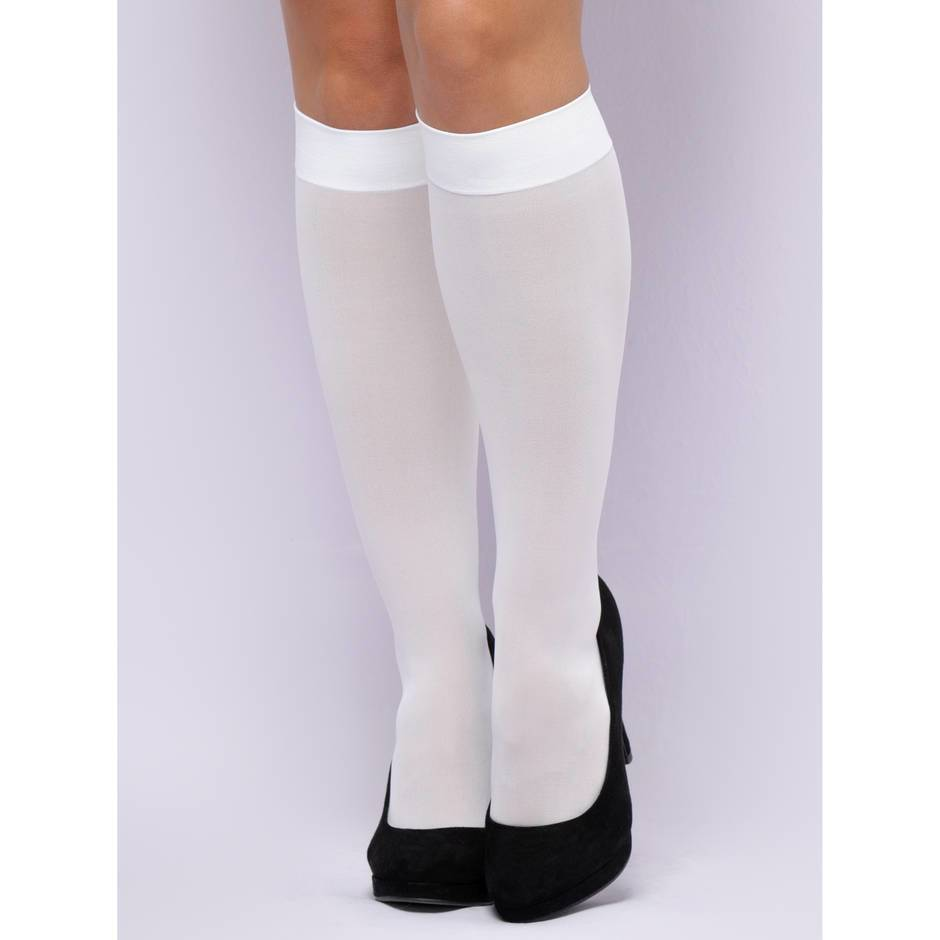 Lovehoney Fantasy White Schoolgirl Socks