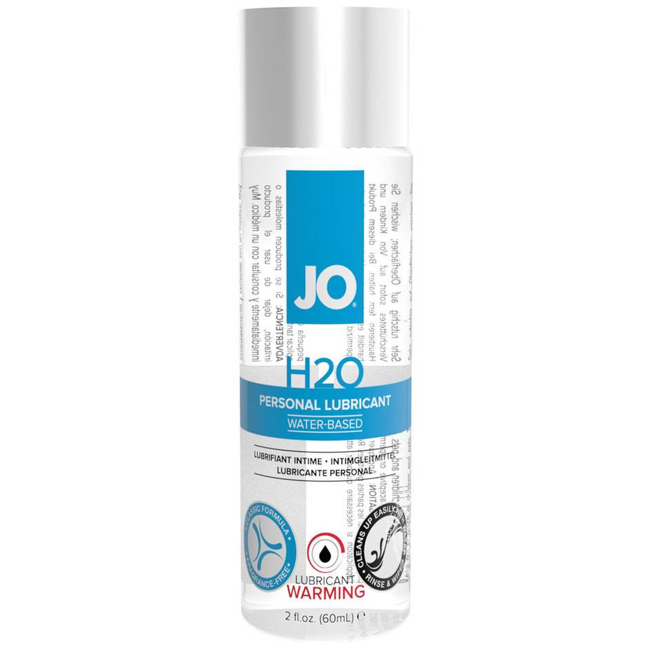 System JO H2O Warming Water-Based Lubricant 2 fl oz