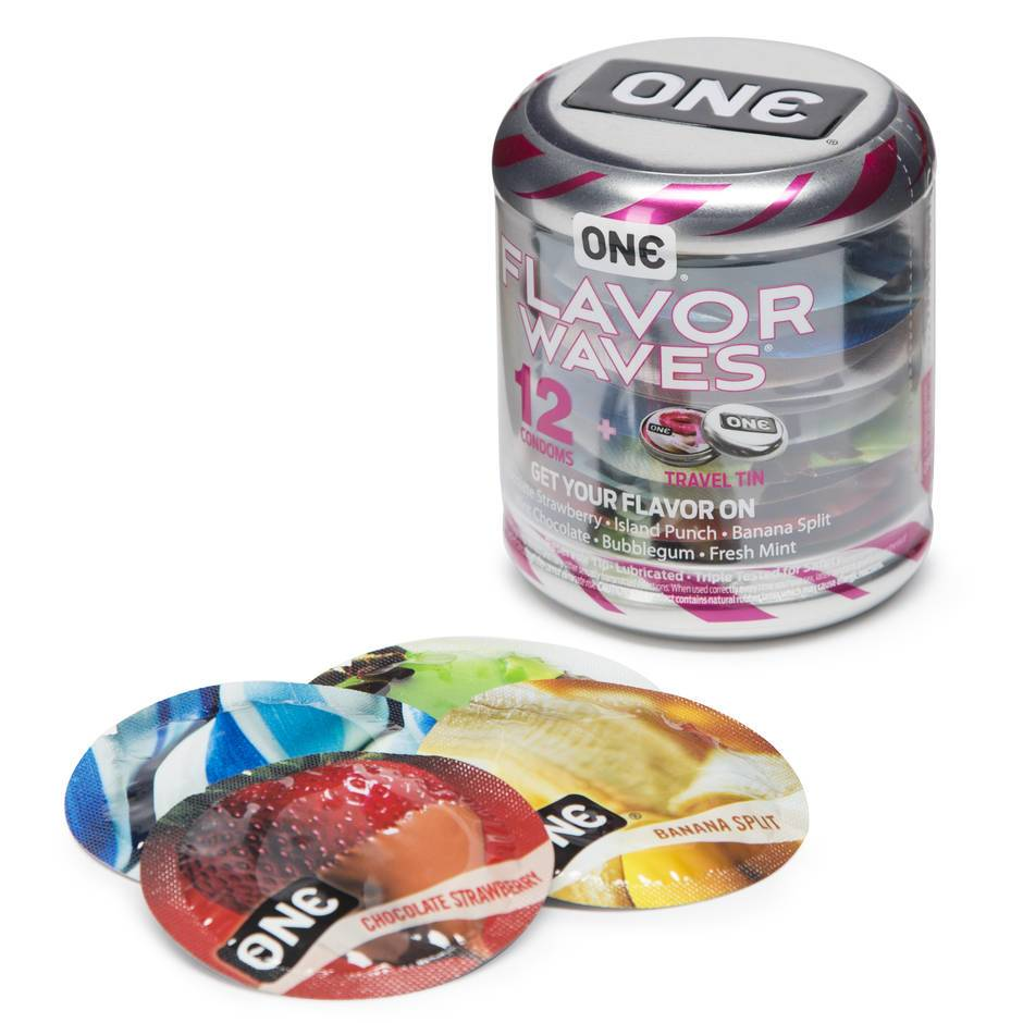 ONE Flavour Waves Kondome (12er Pack)