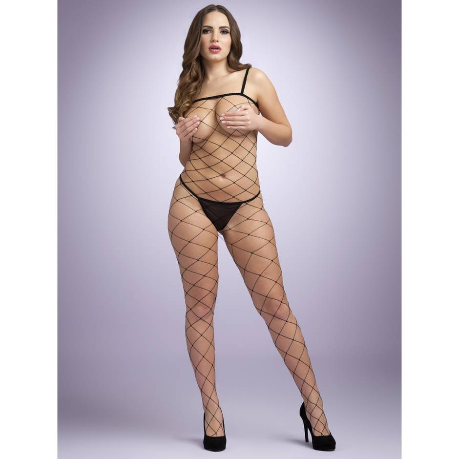 Lovehoney Crotchless Fencenet Bodystocking