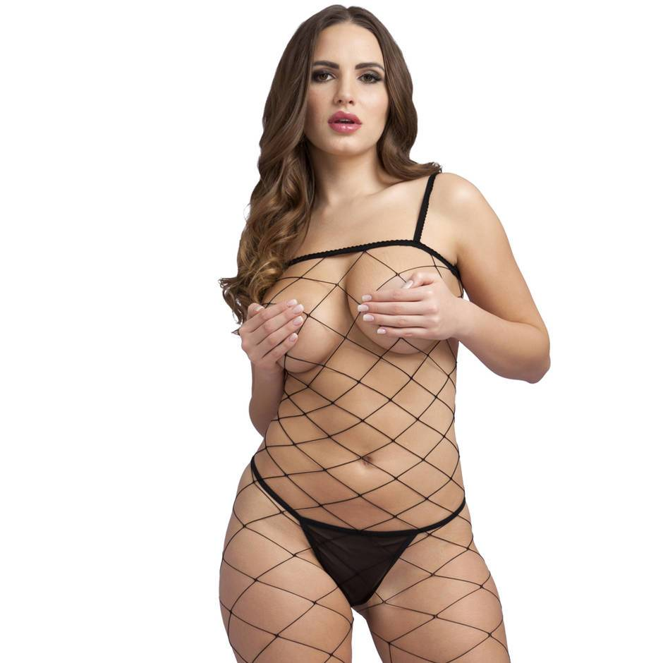 Lovehoney Crotchless Fence Net Bodystocking