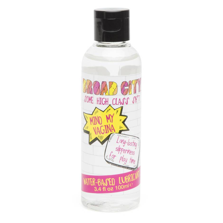 Broad City Mind My Vagina Water-Based Lubricant 3.4 fl oz