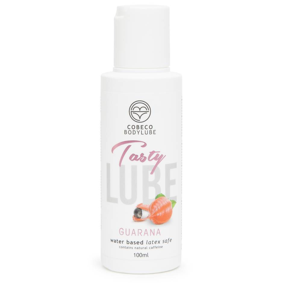Cobeco Tasty Lube Guarana Flavoured Water-Based Lubricant 100ml