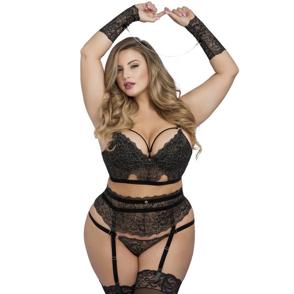 Lovehoney Plus Size Elixir Luxus BH-Set