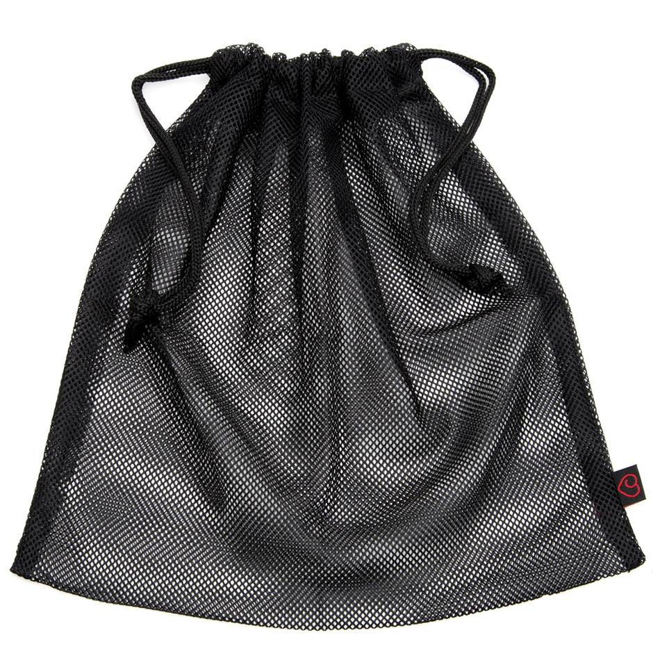 Lovehoney Black Mesh Drawstring Gift Bag