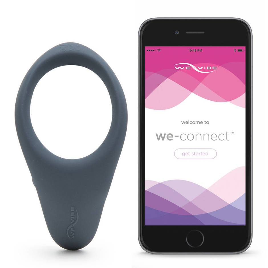 We-Vibe Verge App Controlled Vibrating Cock Ring with Perineum Massager