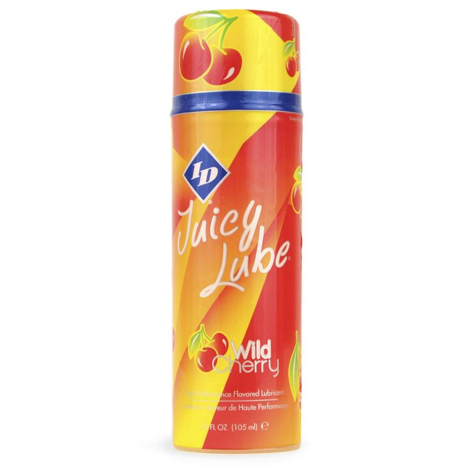 ID Juicy Lube Wild Cherry Flavored Lubricant 3.5 fl oz