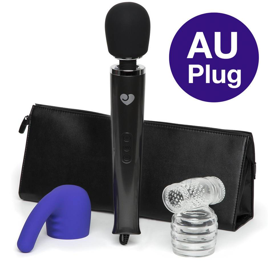 Lovehoney Deluxe Wand Bundle LHAU LHNZ Black