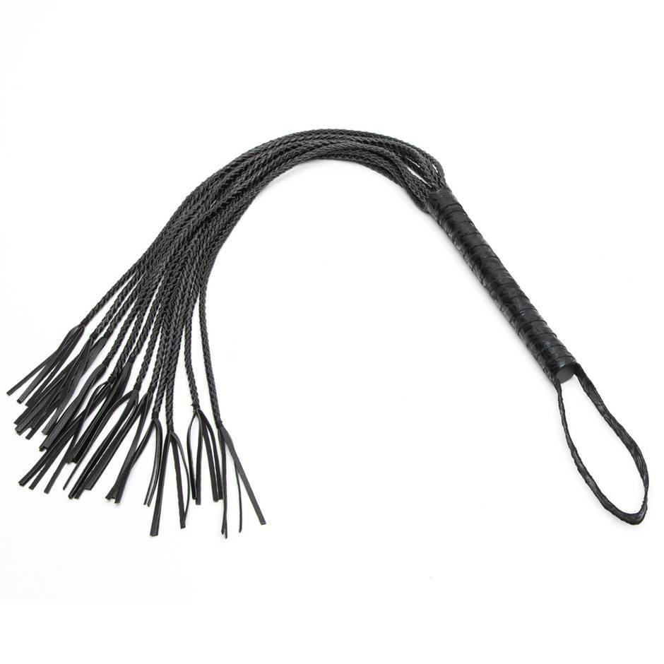 Bondage Boutique Black Rose Flogger