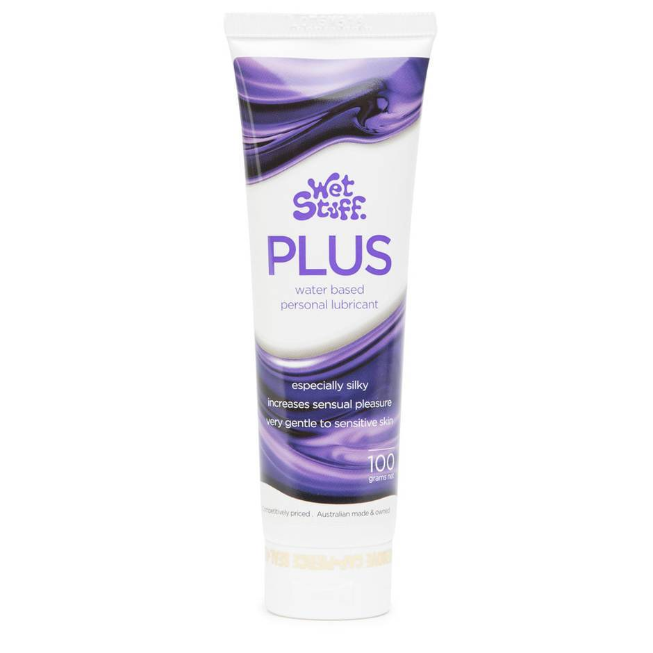 Wet Stuff Plus Silky Water Based Sensitive Lubricant 100ml