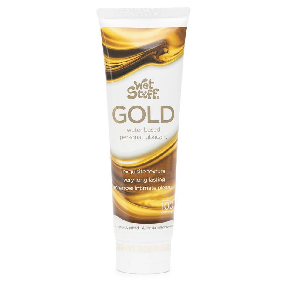 Wet Stuff Gold Water Based Sensitive Lubricant 100ml