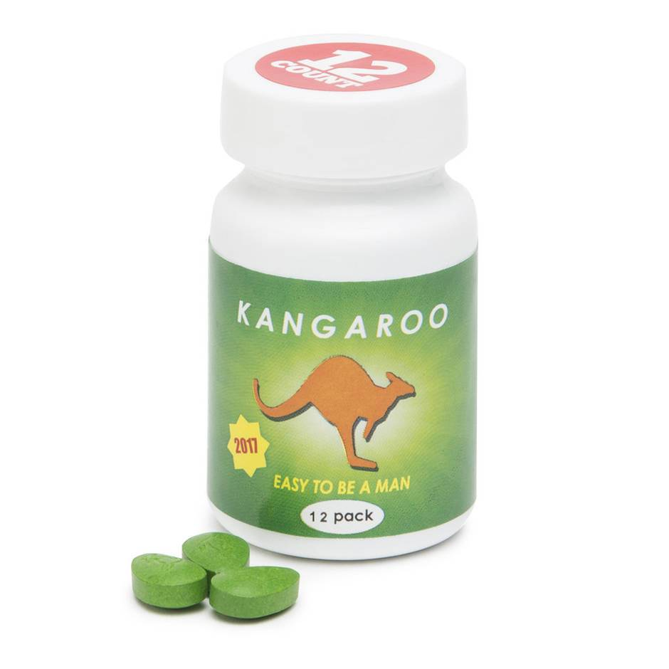 Kangaroo Max Strength Sexual Enhancement for Men (12 Pills)