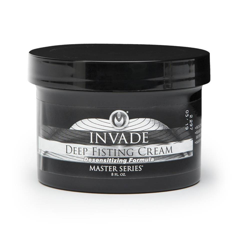 Master Series Desensitizing Invade Deep Fisting Cream 8 fl oz