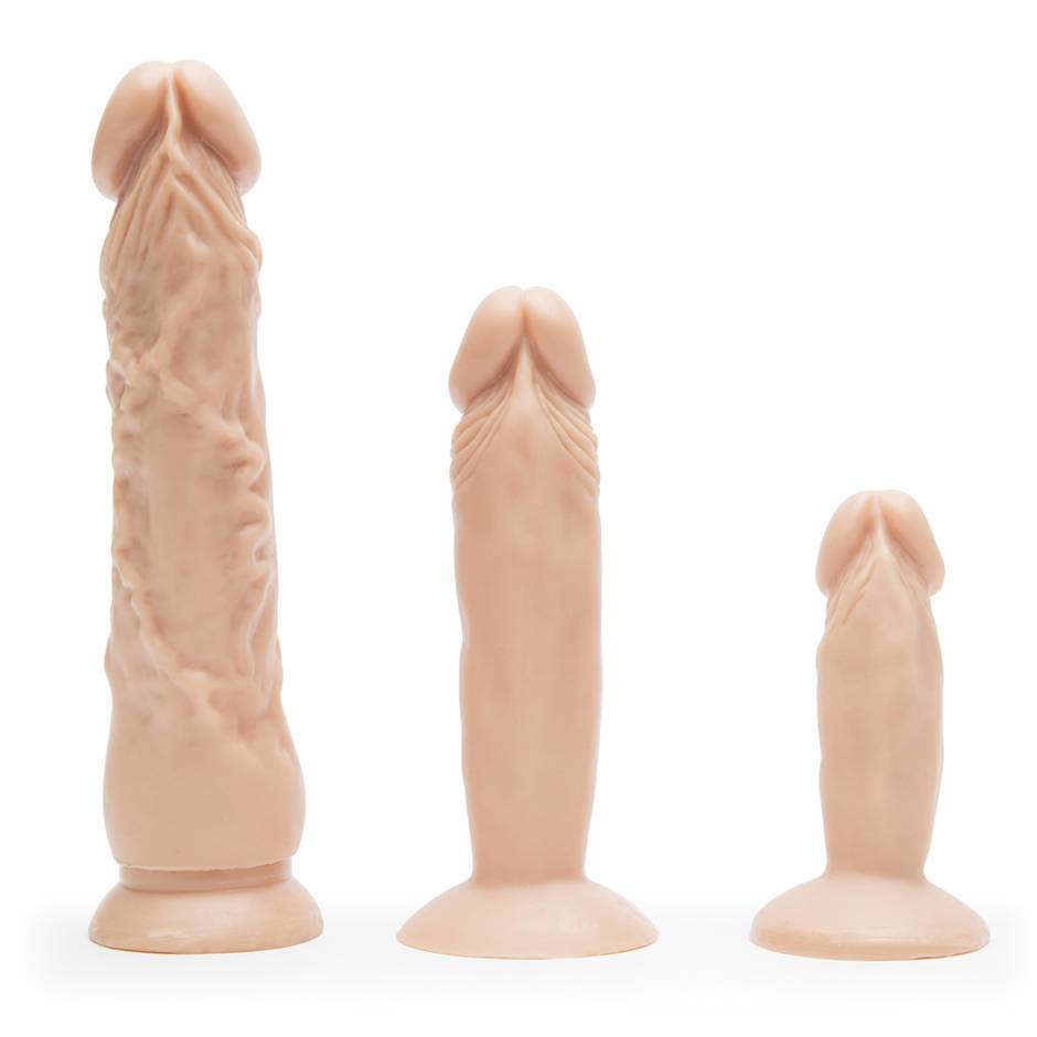 Realistic Suction Cup Dildo Anal Training Set  Lovehoney Uk-3175