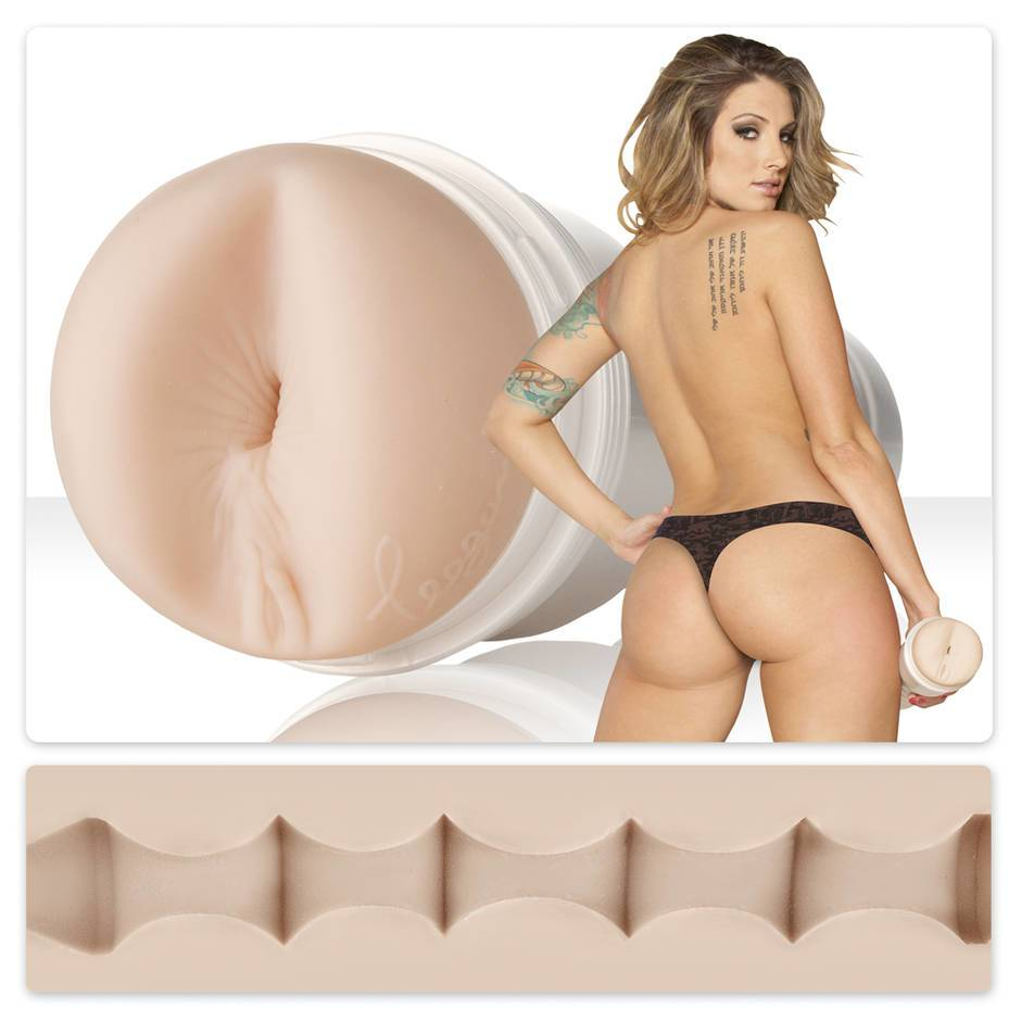 Teagan Presley Bulletproof Textured Fleshlight Girls Butt