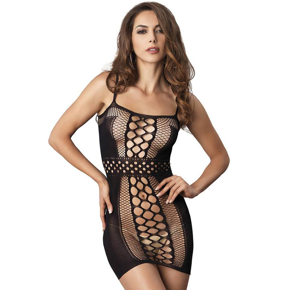 Leg Avenue Multi Net Mini Dress