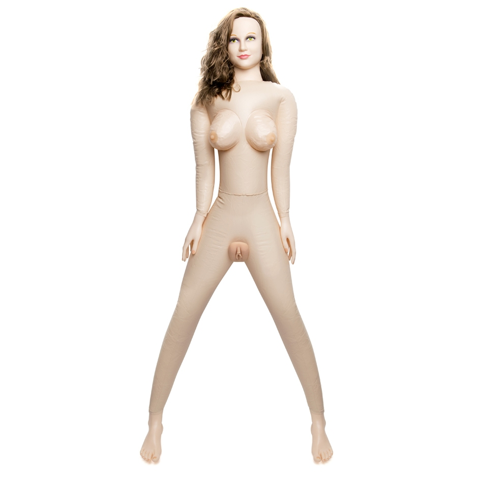 Horny Quella Realistic Vagina and Ass Vibrating Inflatable Sex Doll 3.2kg