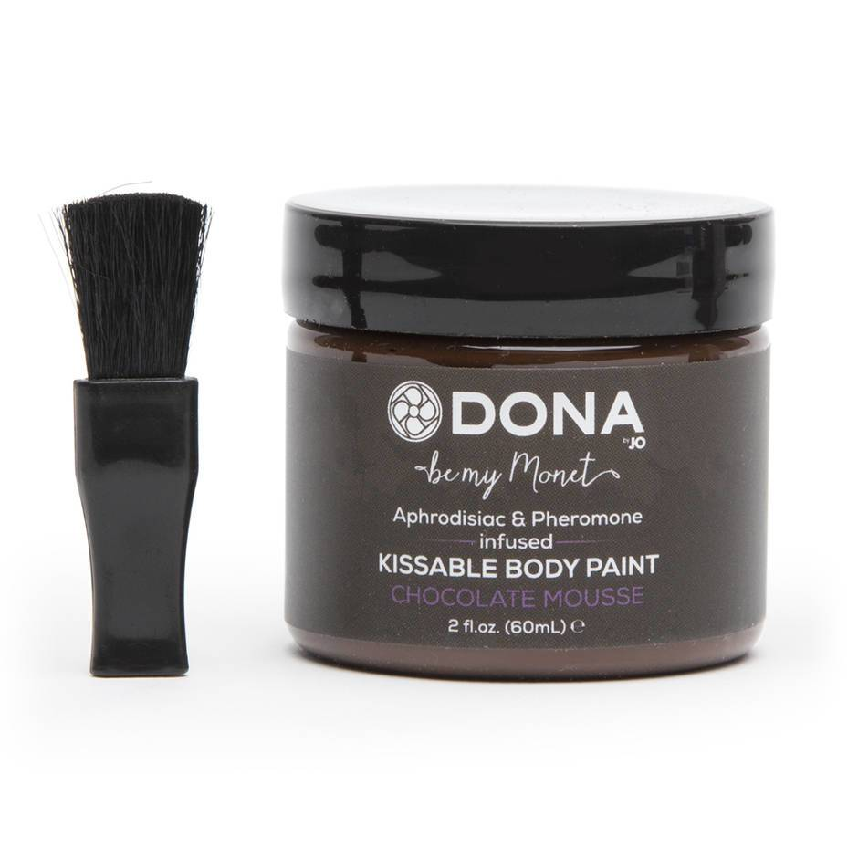 DONA Pheromone Infused Chocolate Body Paint 2.0 fl. oz