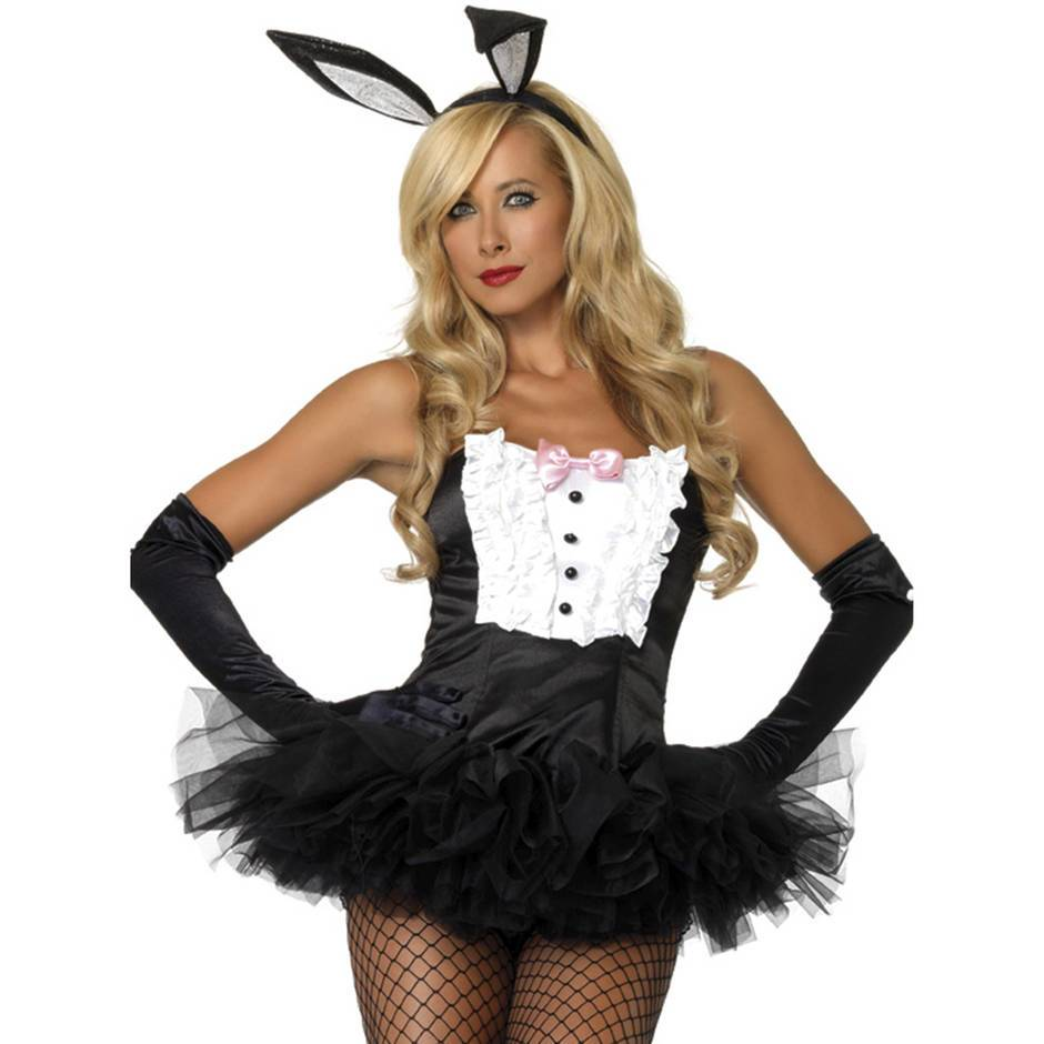 Leg Avenue Bunny Costume Accessory Kit (3 Piece)