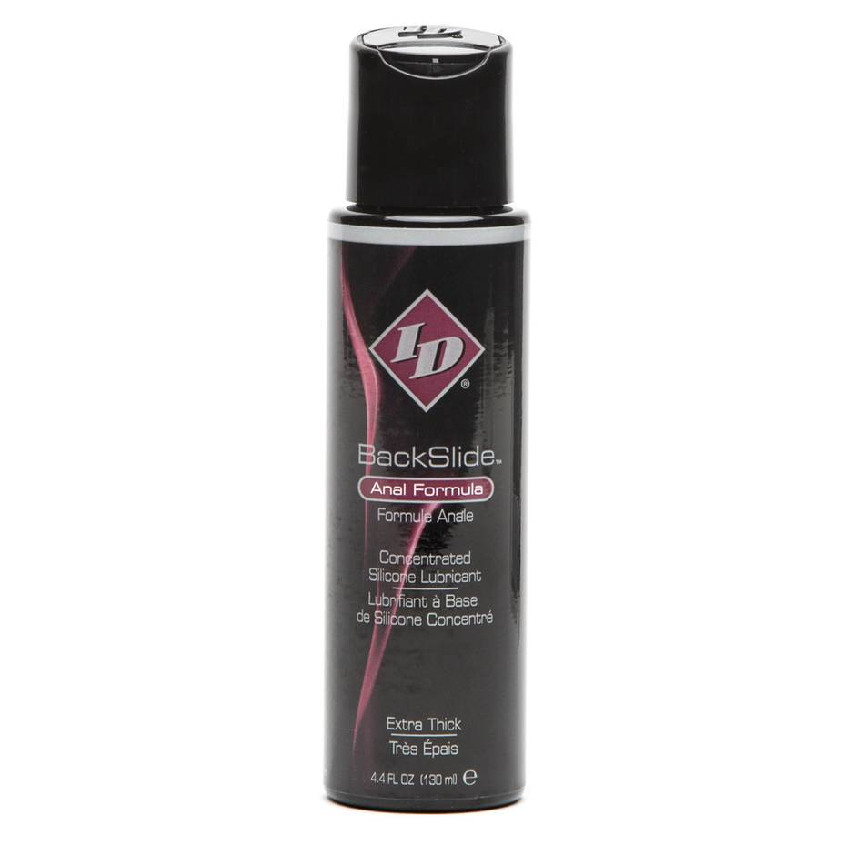 ID BackSlide Concentrated Silicone Anal Lubricant 4.5 fl oz