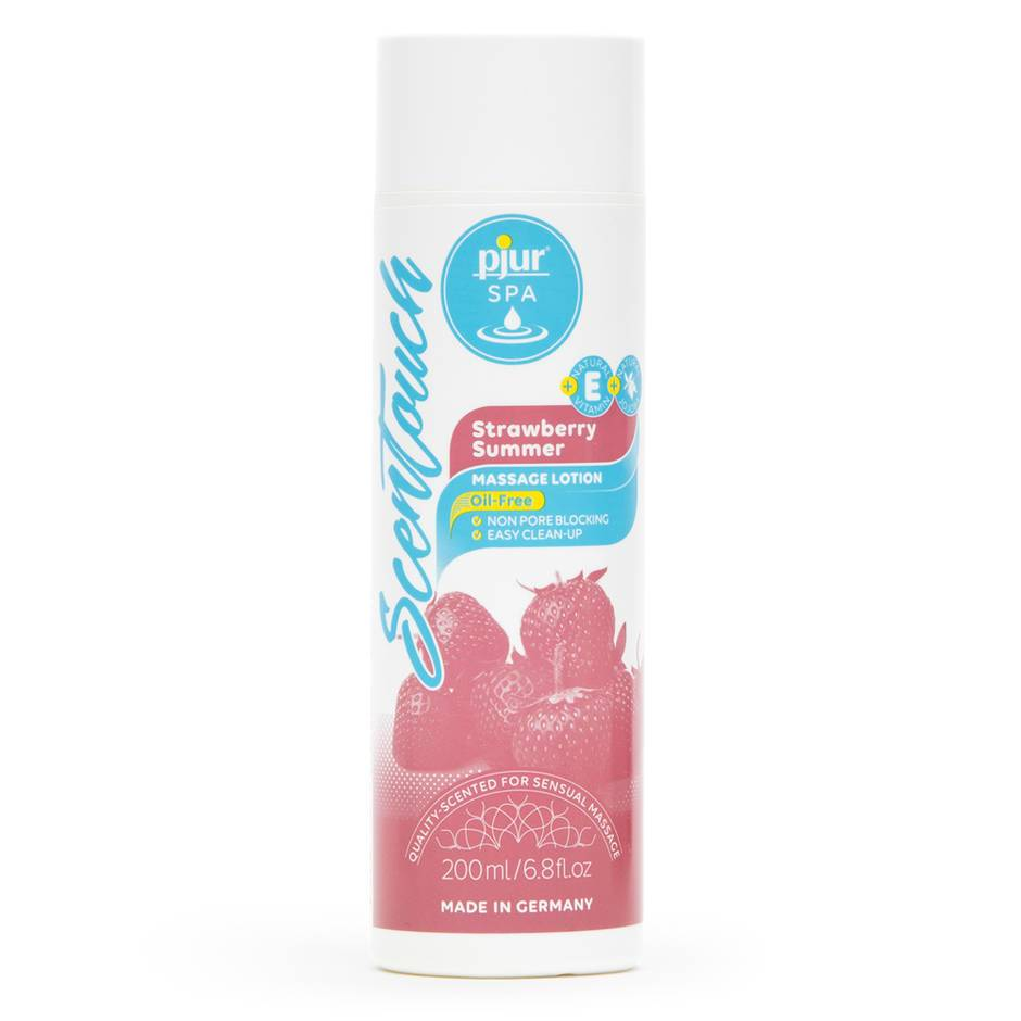 pjur SPA Strawberry Summer Massage Lotion 200ml