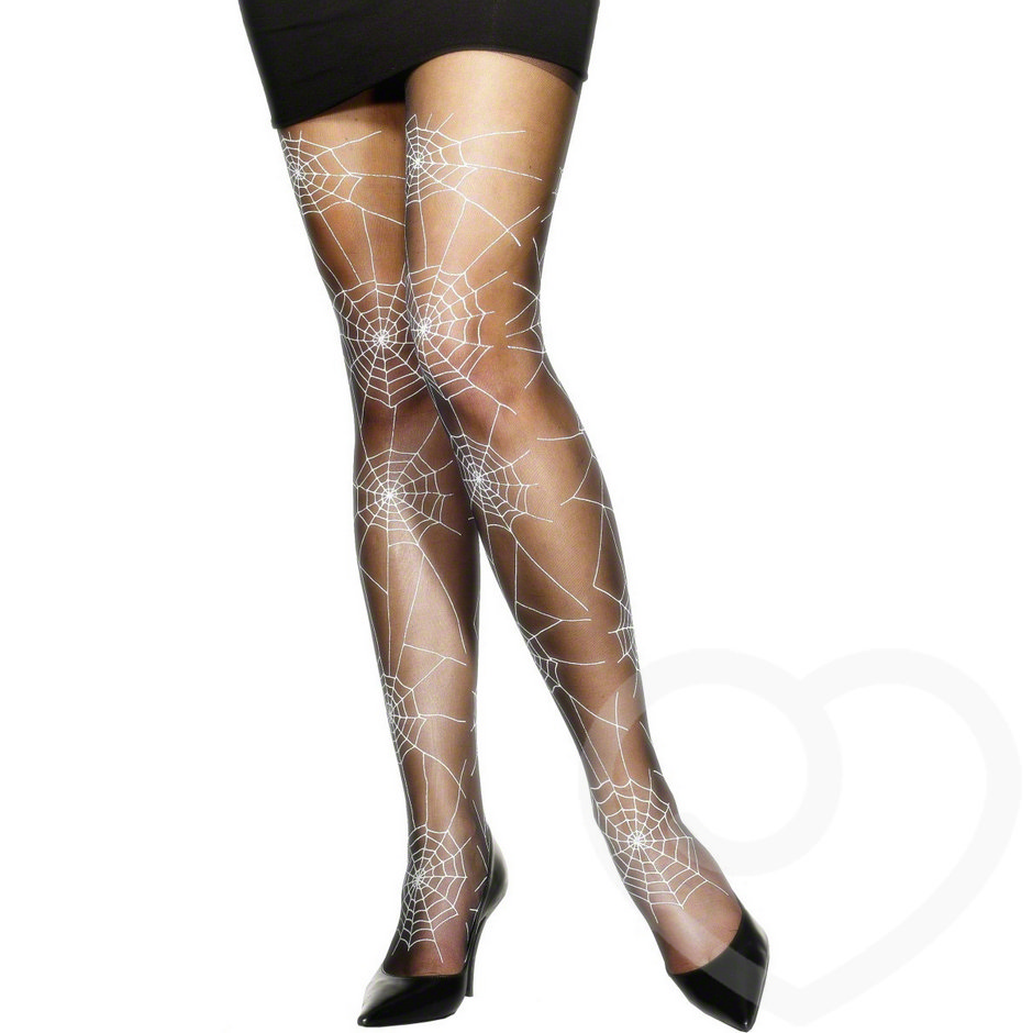 Fever Sheer Spiderweb Halloween Costume Tights