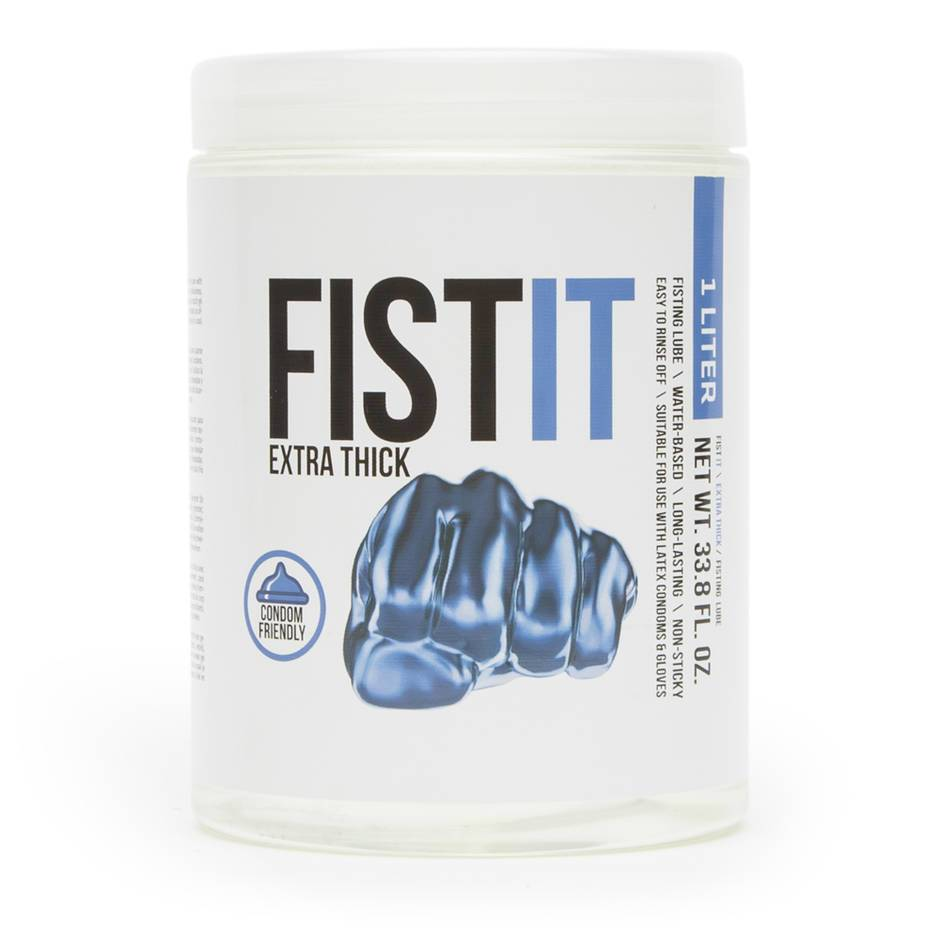 Fist-It Extra Thick Water-Based Anal Fisting Lubricant 1000ml
