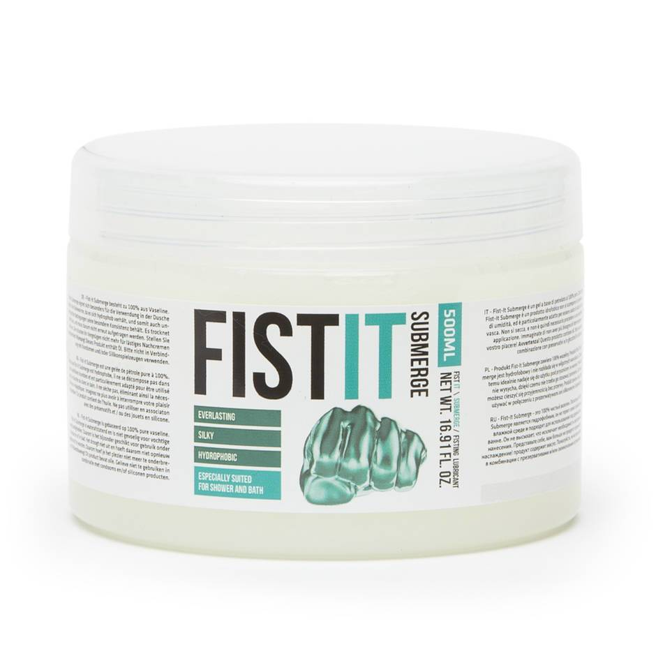 Fist-It Submerge Oil-Based Super Silky Jelly 500ml