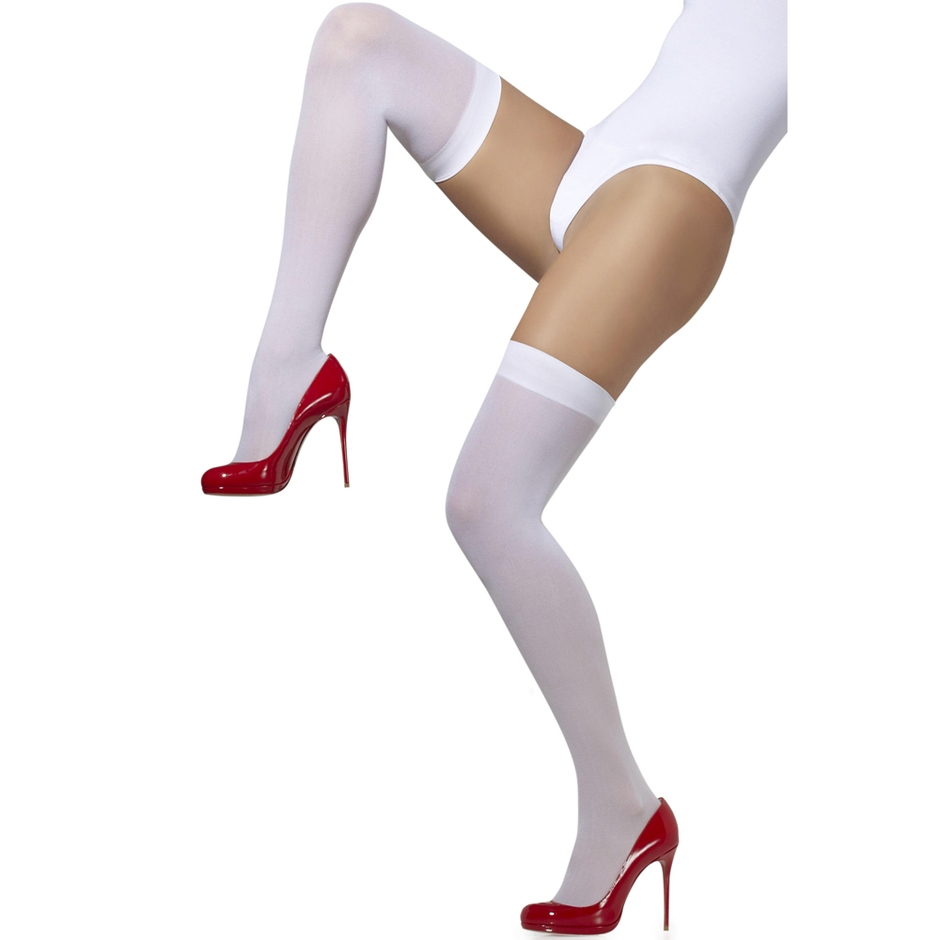 Fever Over The Knee Opaque Hold-Ups