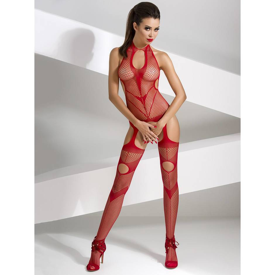 Passion Crotchless Fishnet Bodystocking