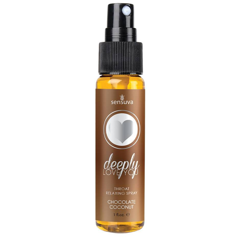 Sensuva Love You Deeply Throat Relaxing Spray Chocolate Coconut 30ml