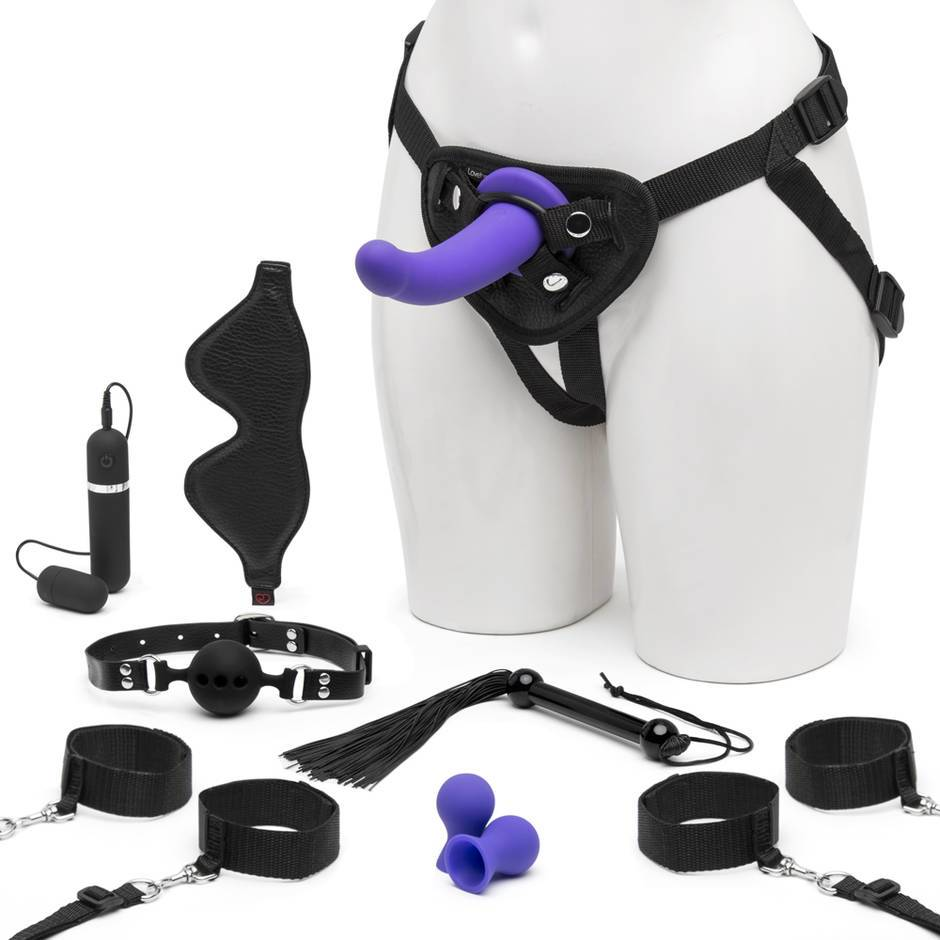 Kit de Juguetes Bondage Take Control Lovehoney (10 Piezas)
