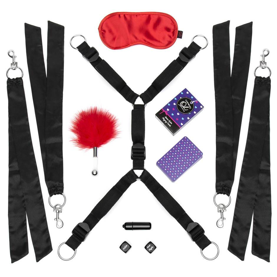 Lovehoney Bind Date Bondage Kit (8 Piece)