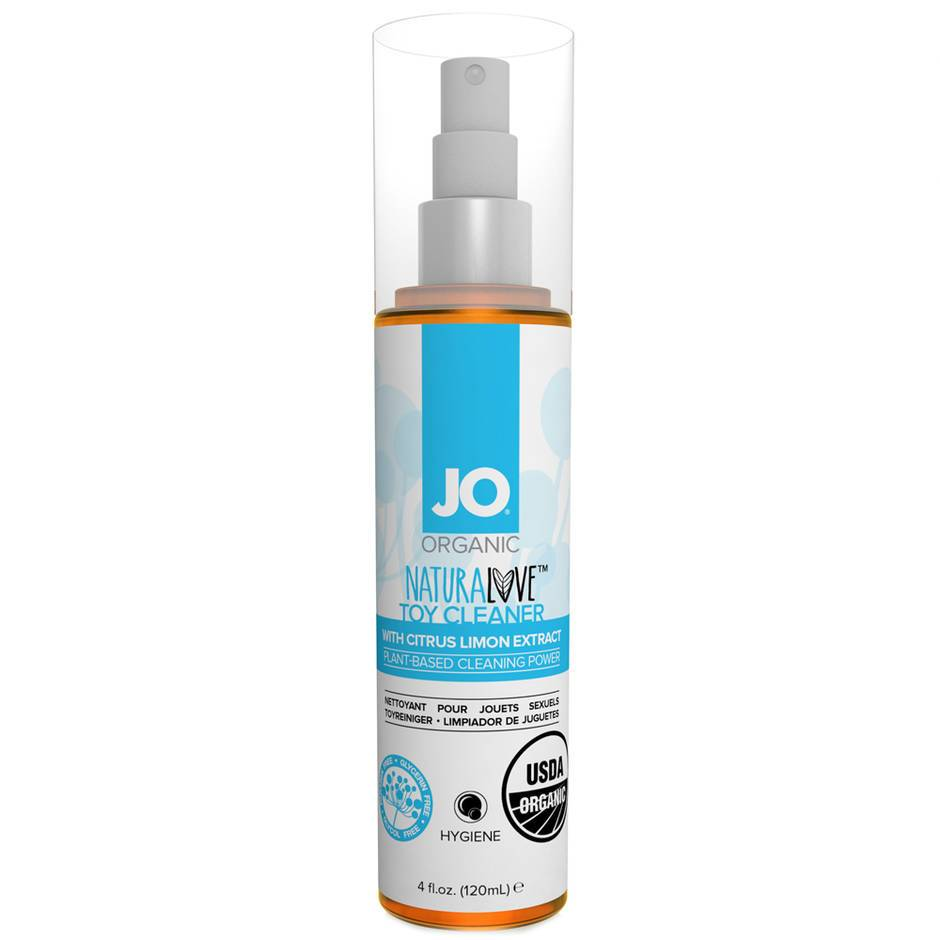 JO Naturalove Organic Sex Toy Cleaner 120ml