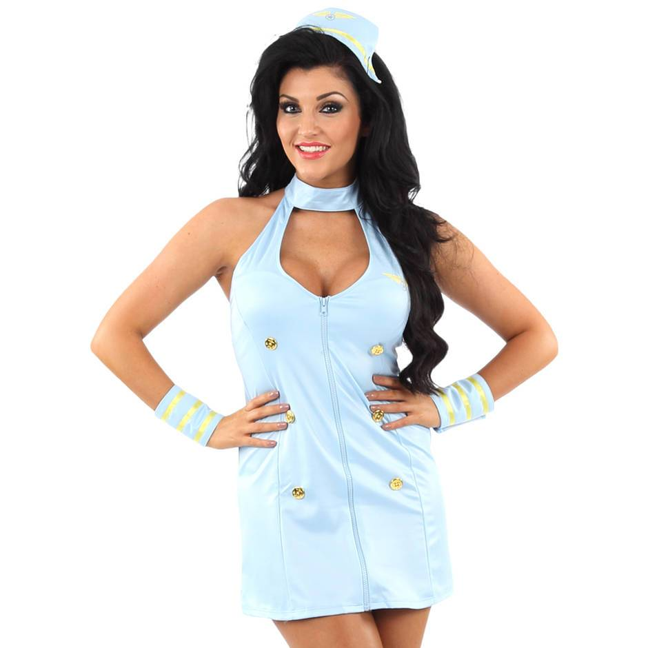 Classified Air Hostess Costume Set