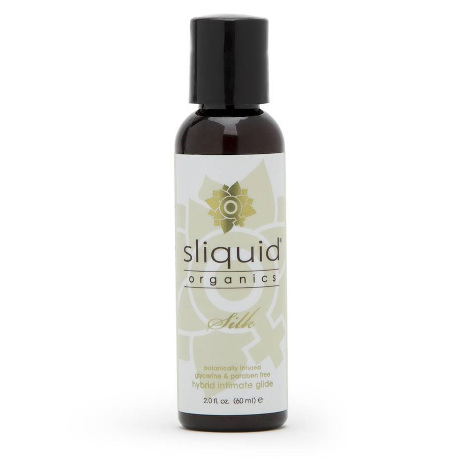 Sliquid Organics Natural Silk Lubricant 2.0 fl oz