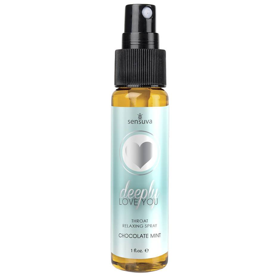 Sensuva Deeply Love You Throat Relaxing Spray Chocolate Mint 30ml