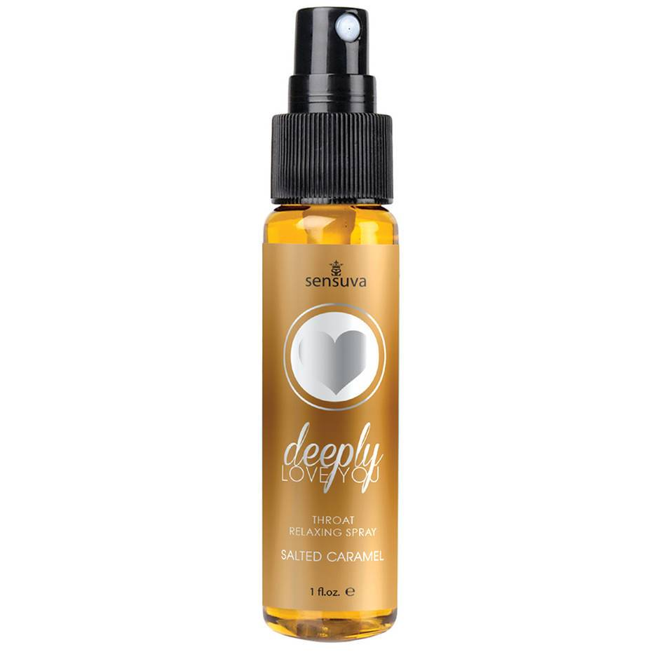 Sensuva Deeply Love You Throat Relaxing Spray Salted Caramel 30ml