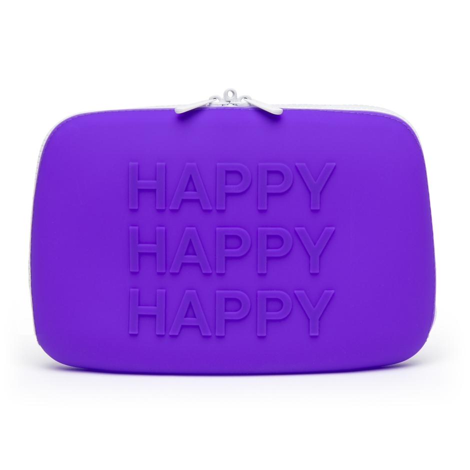 Happy Rabbit HAPPY Large Silicone Zip Storage Case