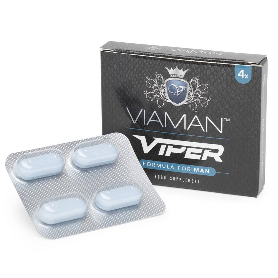 Viaman Viper Formula for Men (4 Tablets)