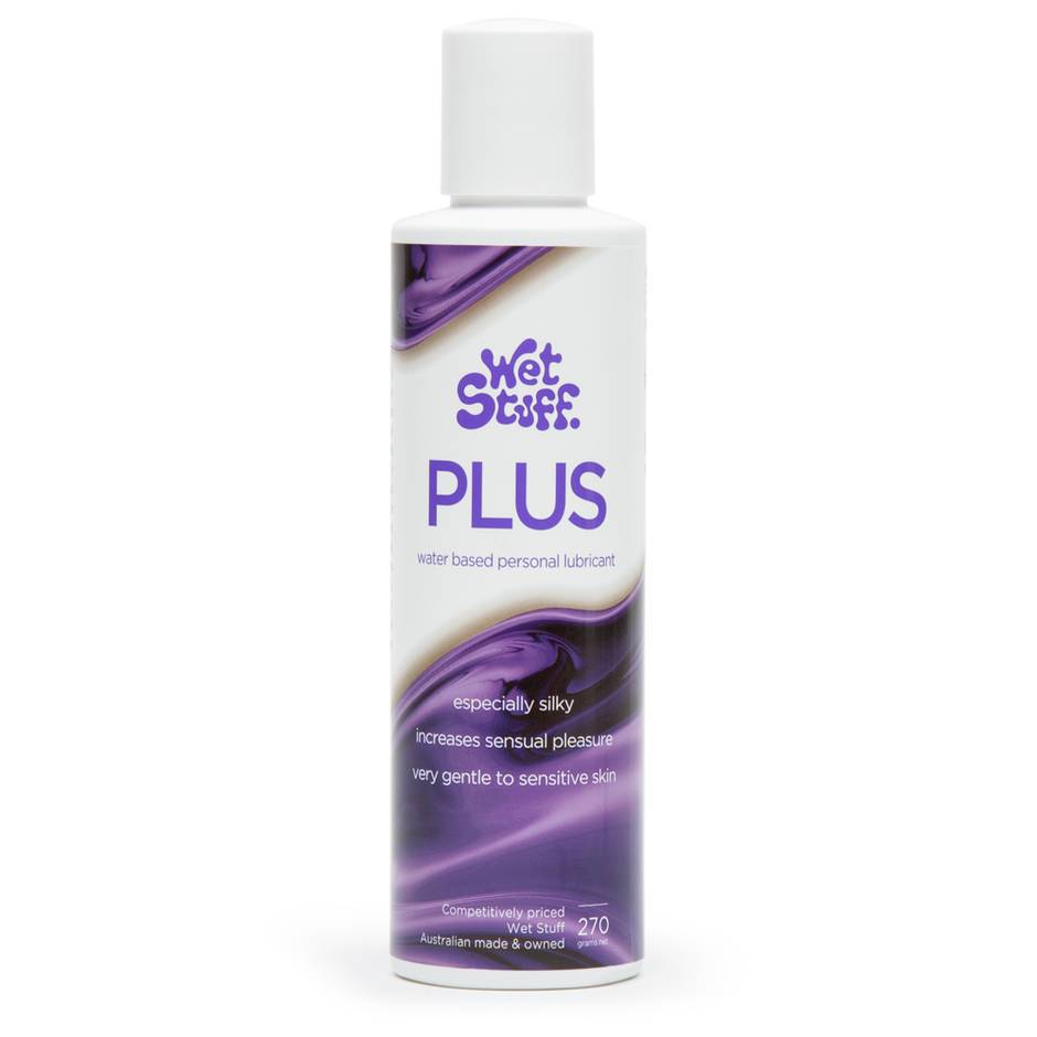 Wet Stuff Plus Silky Water Based Sensitive Lubricant 270ml