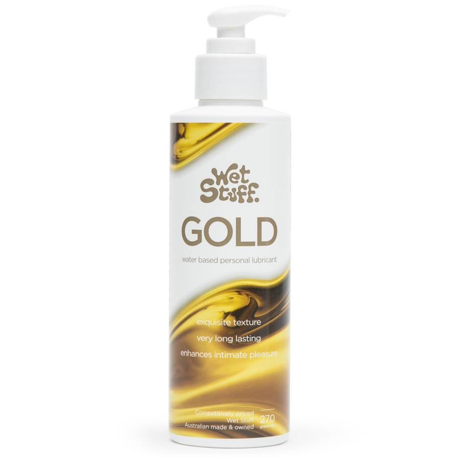 Wet Stuff Gold Water-Based Lubricant 270ml