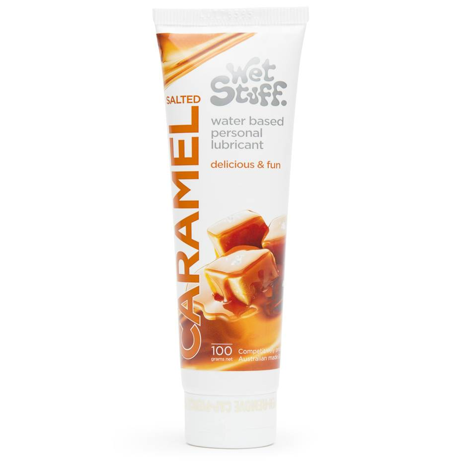 Wet Stuff Salted Caramel Flavoured Lubricant 100ml