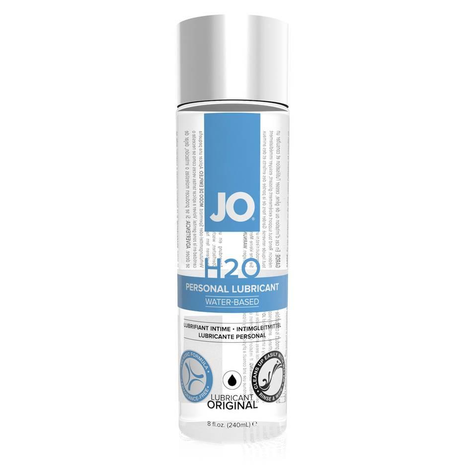 System JO H2O Water-Based Lubricant 240ml