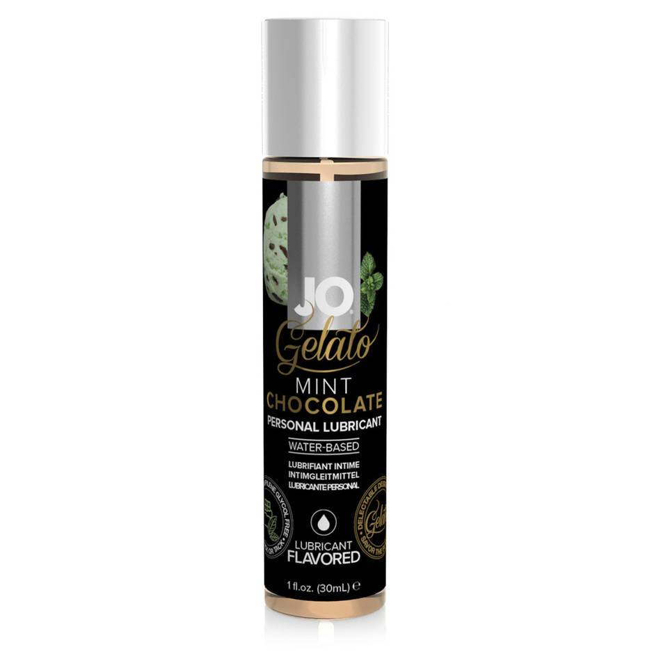 System JO Gelato Chocolate Mint Flavoured Lubricant 30ml