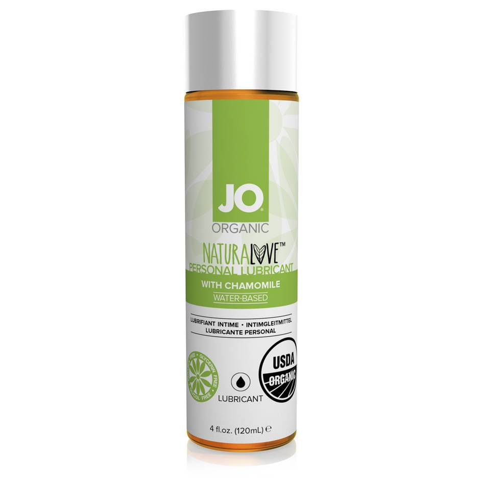 System JO Organic NaturaLove Water-Based Lubricant 120ml