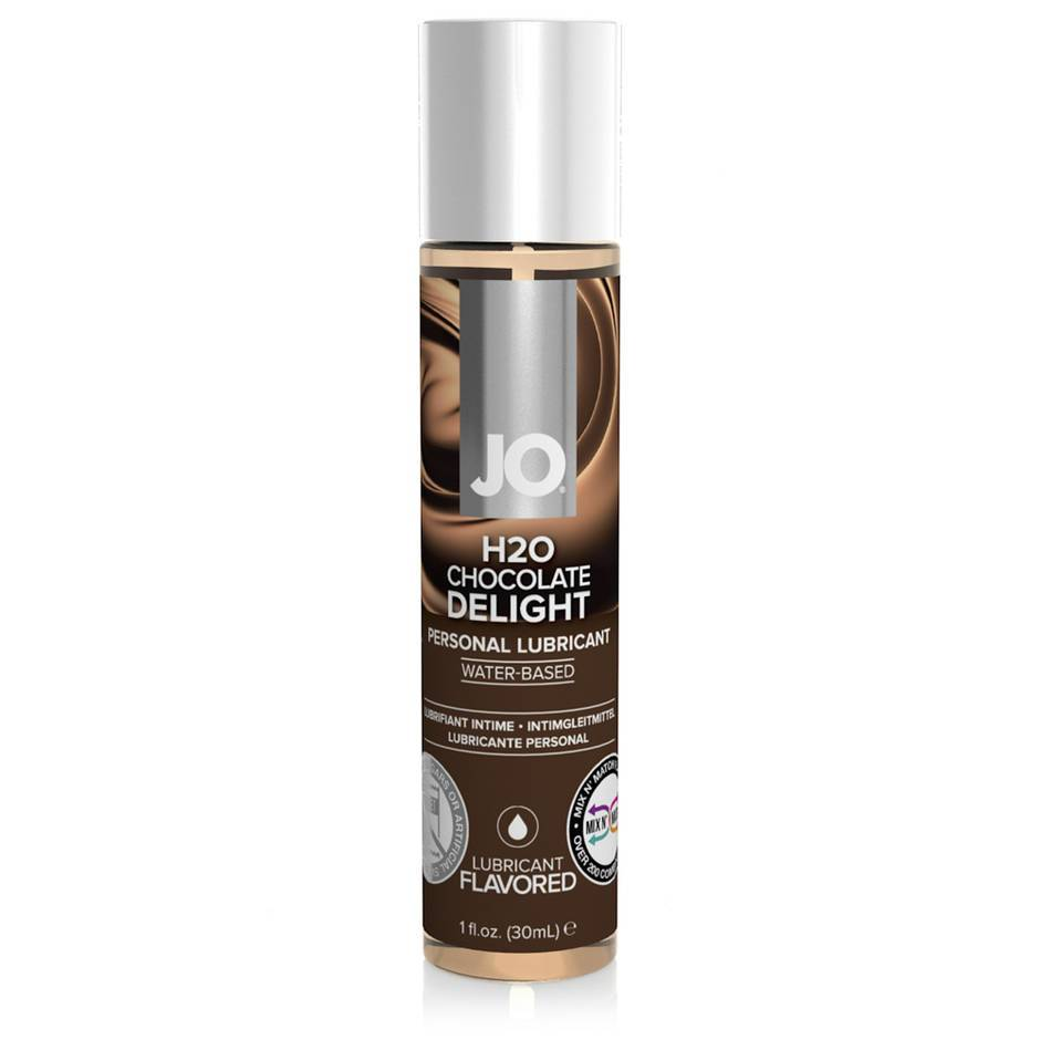 System JO Chocolate Delight Flavored Lubricant 1.0 fl oz