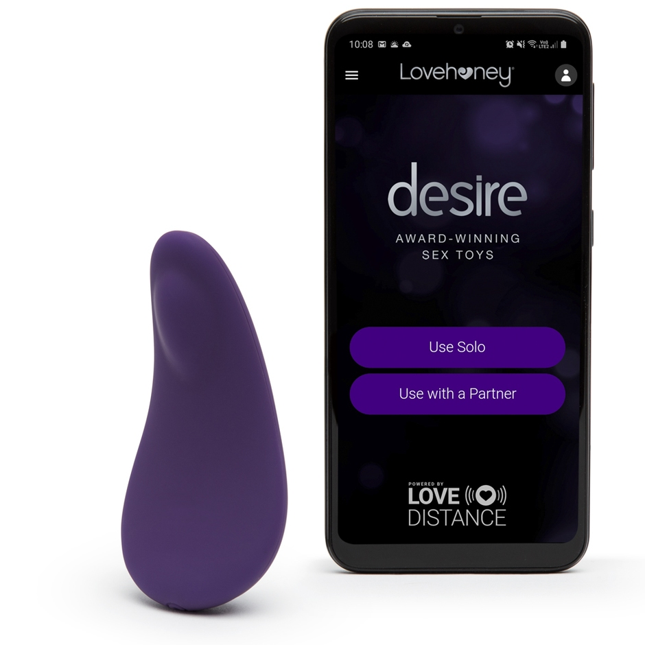 Desire Luxury App Controlled Rechargeable Knicker Vibrator