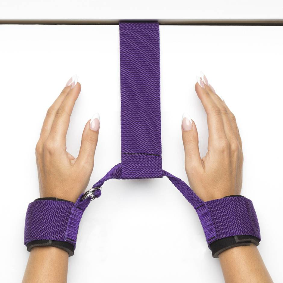 Purple Reins Over-the-Door Restraint