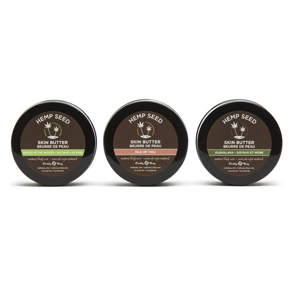 Earthly Body Skin Butter Trio Gift Set (3 x 51g)